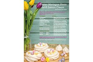 Easter Meringue recipe in The Guide 2 Surrey