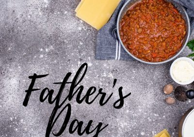 Online Event: Father's day 2 course meal for Kids and Teenagers (19th June)
