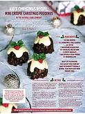 Christmas recipe - christmas puddings