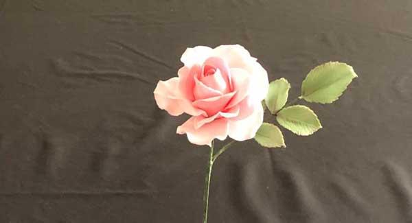 Sugar Craft Rose Spray
