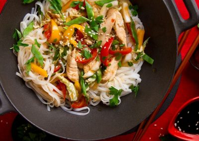 Online Event: Teriyaki Noodles for Kids and Teenagers