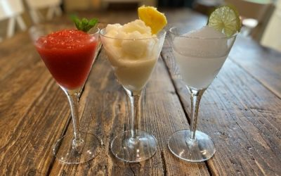 Alcoholic slushies for grown-ups (sloshies?)